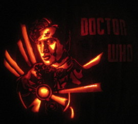 Doctor Who Pumpkin