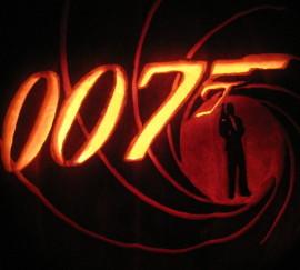 007 Logo Pumpkin
