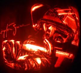 Ayrton Senna Pumpkin