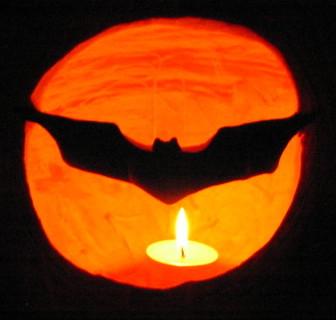 Bat Signal Pumpkin