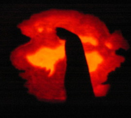 Batman Silhouette Pumpkin