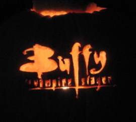Buffy Logo Pumpkin