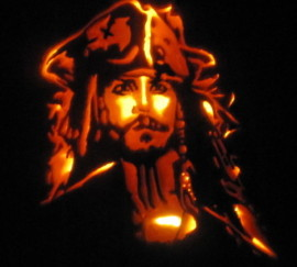 Captain Jack Pumpkin