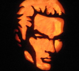 Spike Cut Out Pumpkin
