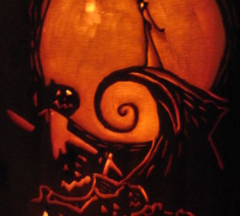 Nightmare Before Christmas Hill Pumpkin