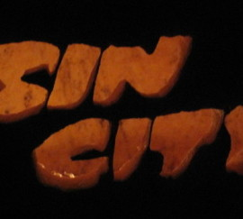 Sin City Logo Pumpkin