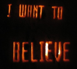 Want to Believe Pumpkin