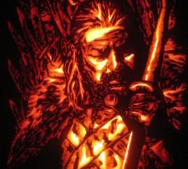 Eddard Ned Stark Pumpkin