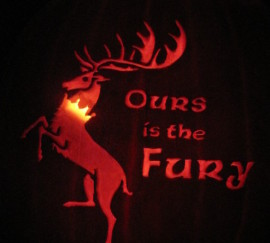 Baratheon Sigil Pumpkin