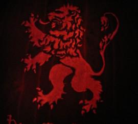 Lannister Sigil Pumpkin
