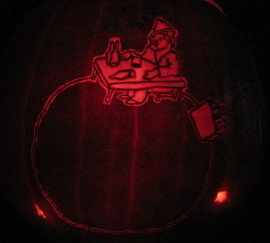 Little Prince Drunkard Planet Pumpkin
