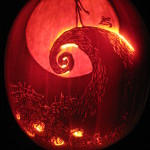 Nightmare Before Christmas Cemetery Hill Pumpkin