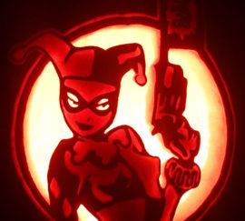 Harley Quinn Pumpkin