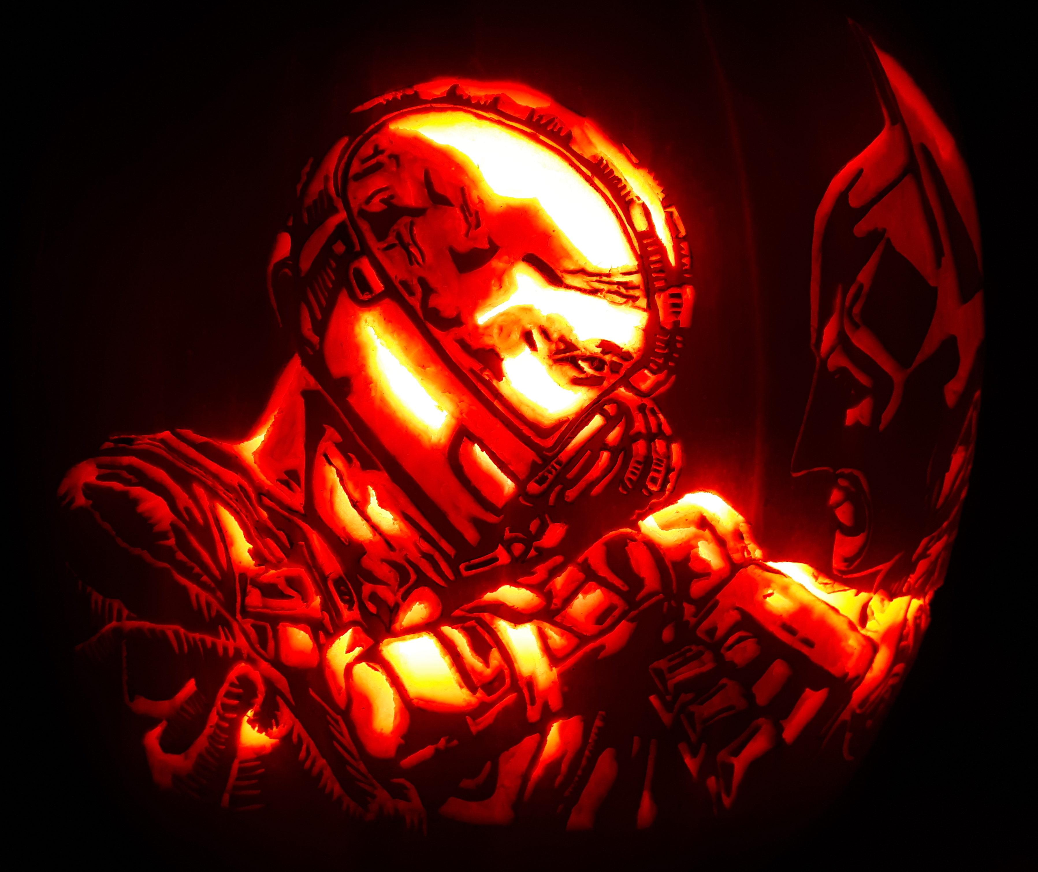 Bane Pumpkin